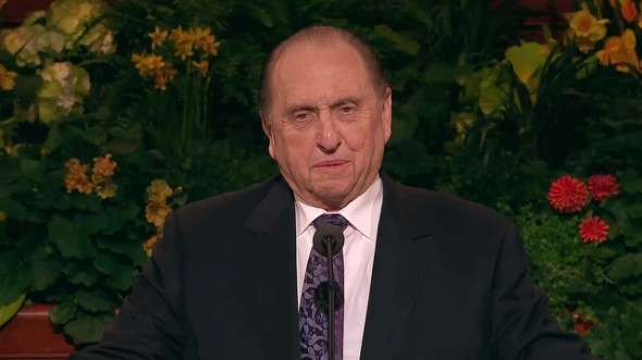 Thomas S. Monson, president of The Church of Jesus Christ of Latter-day Saints