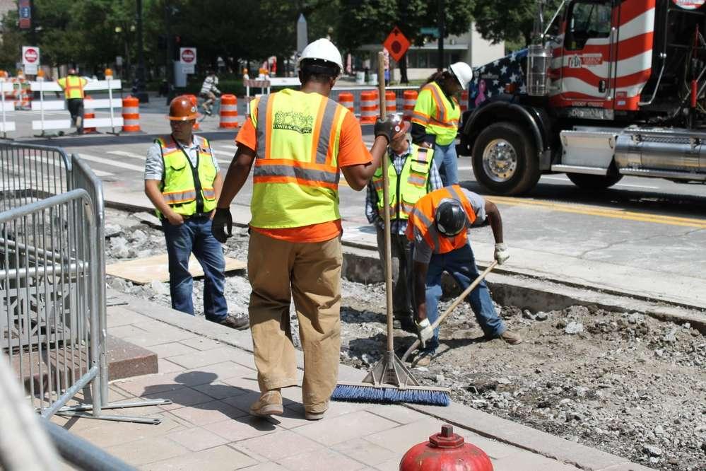 President Donald Trump has proposed a $1 trillion overhaul of America's roads and bridges. (DailyDetroit.com photo)