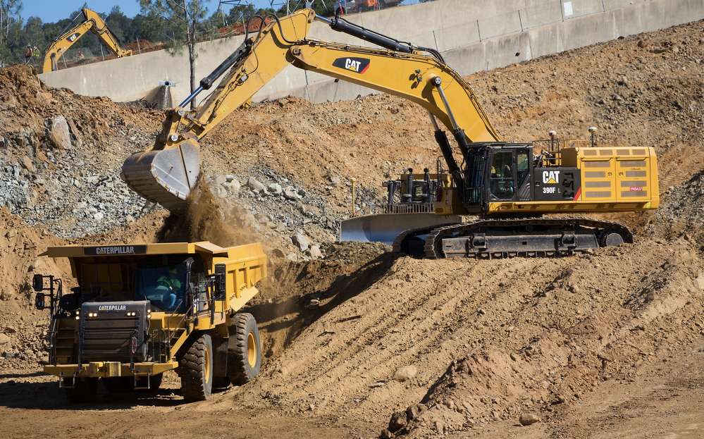 Construction crews in California have begun demolishing the destroyed portion of the main spillway at Oroville Dam as they race to repair the structure in time for the next rainy season.