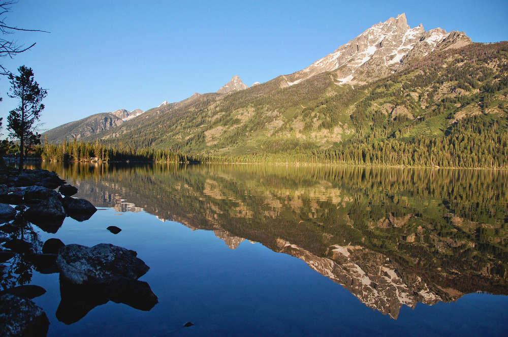 Jenny Lake in Grand Teton National Park. (coolnaturephotos.com photo)