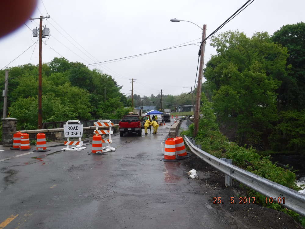 The bridge was fully closed to traffic as of May 1. It will remain closed until July, but additional closures will occur later in the project.