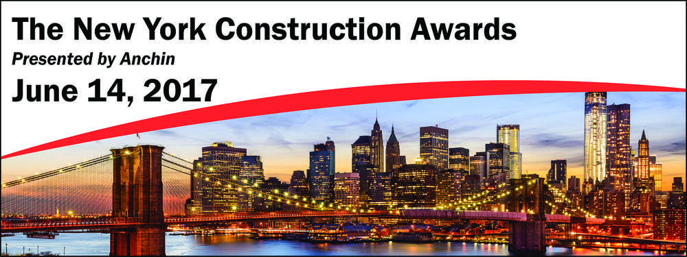Anchin Block & Anchin LLP, host of the annual New York Construction Awards, has announced this year's winners.