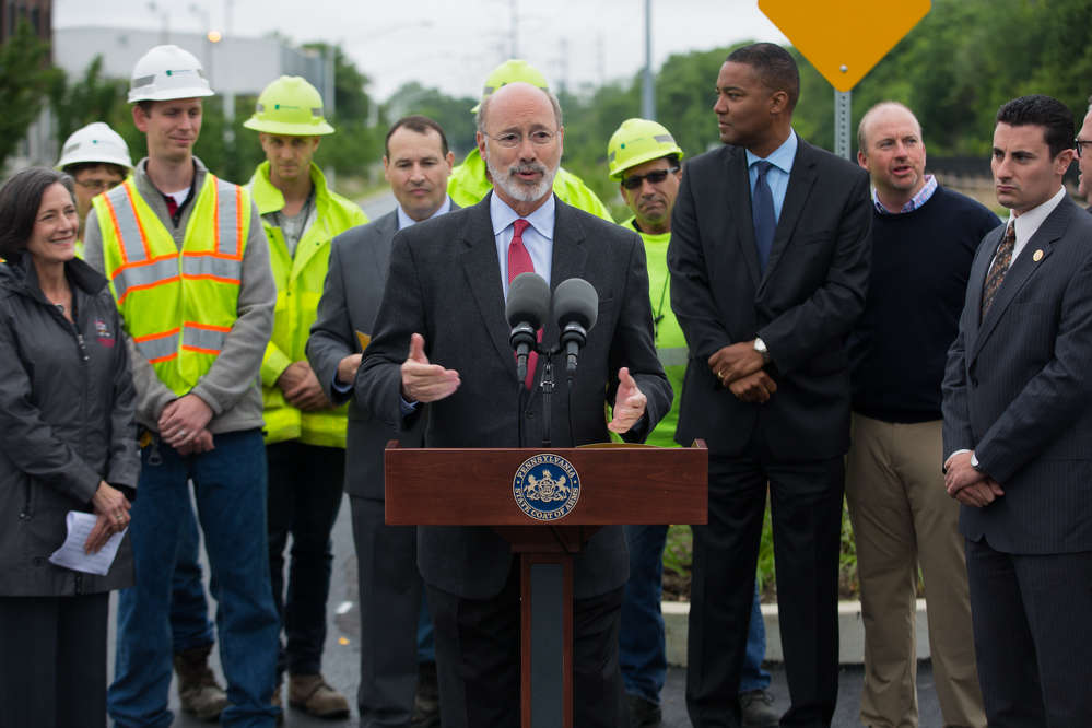 Gov. Tom Wolf and the Pennsylvania Department of Transportation (PennDOT) announced that more than $550 million in highway and bridge improvements will begin or be bid across the Philadelphia region during the 2017 construction season.