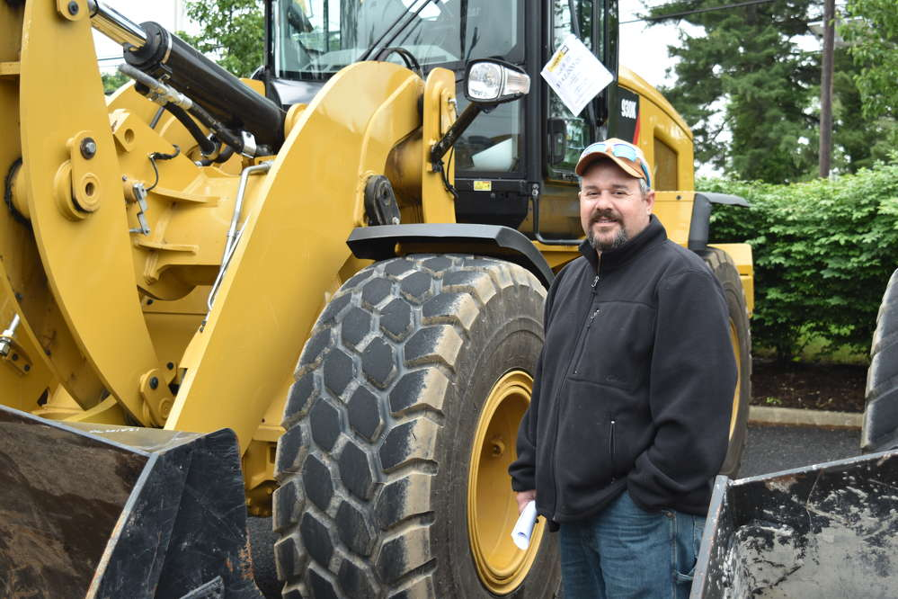 Frank Lopes, owner of Lopes Construction LLC, Mullica Hill, N.J., is eager to take advantage of special pricing on Cat equipment.