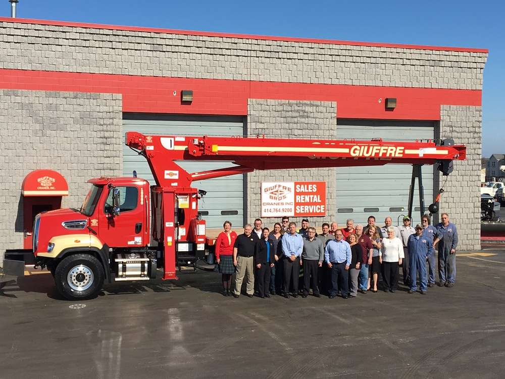 Giuffre Bros. Cranes Inc. is celebrating a major milestone: production of its 5,000th unit.