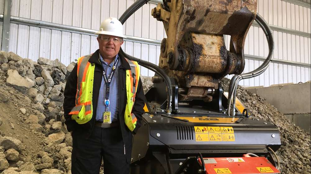 David Gilson, CB&I, reviewed several companies and their equipment before settling on MB.