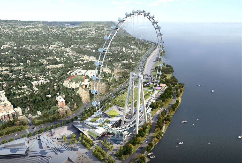 A snag in the construction of the future 630-foot high observation wheel could potentially hinder the project.