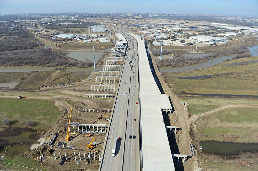 The $847.6 million Midtown Express project will rebuild and improve portions of much-used Texas state highways. (Southgate photo)