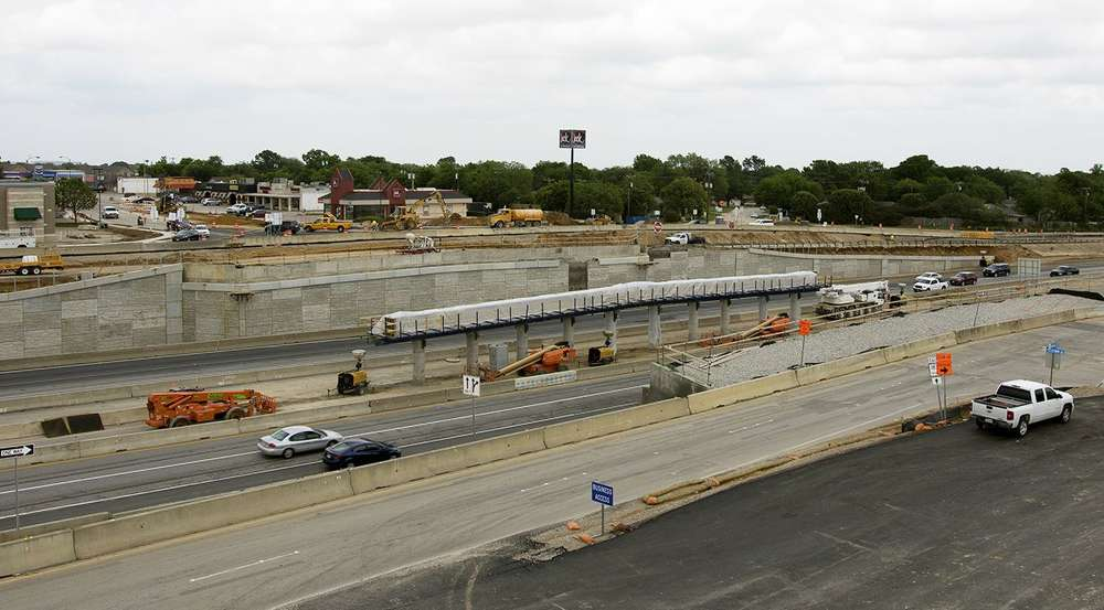 Crews also will construct four direct connector ramps and one wishbone structure. (Midtown Express photo)