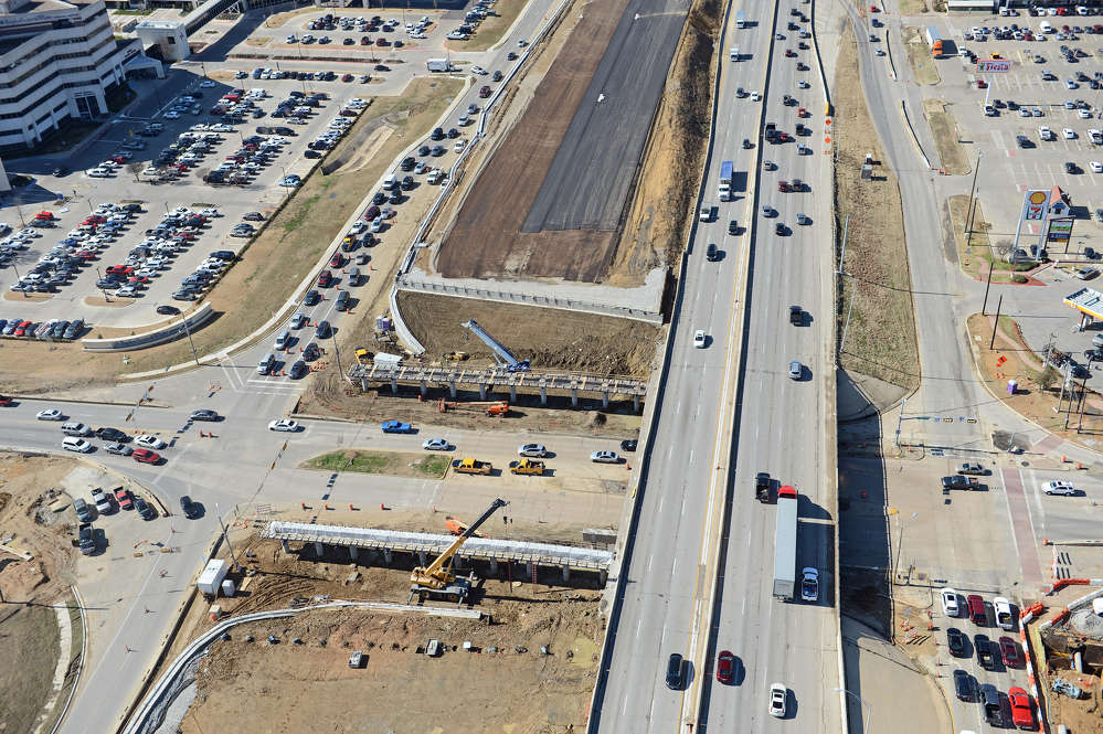 Construction of Midtown Express, also known as the managed-lanes project, began in spring of 2015 and is expected to conclude in late 2018. (Southgate photo)