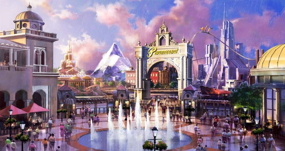The Block Sports Co. of Orlando, Fla., has submitted a proposal to build an estimated $4 billion Disney World-like 1,500-acre themed amusement park and resort called Dreamport Villages. (The Block Sports Co. photo)