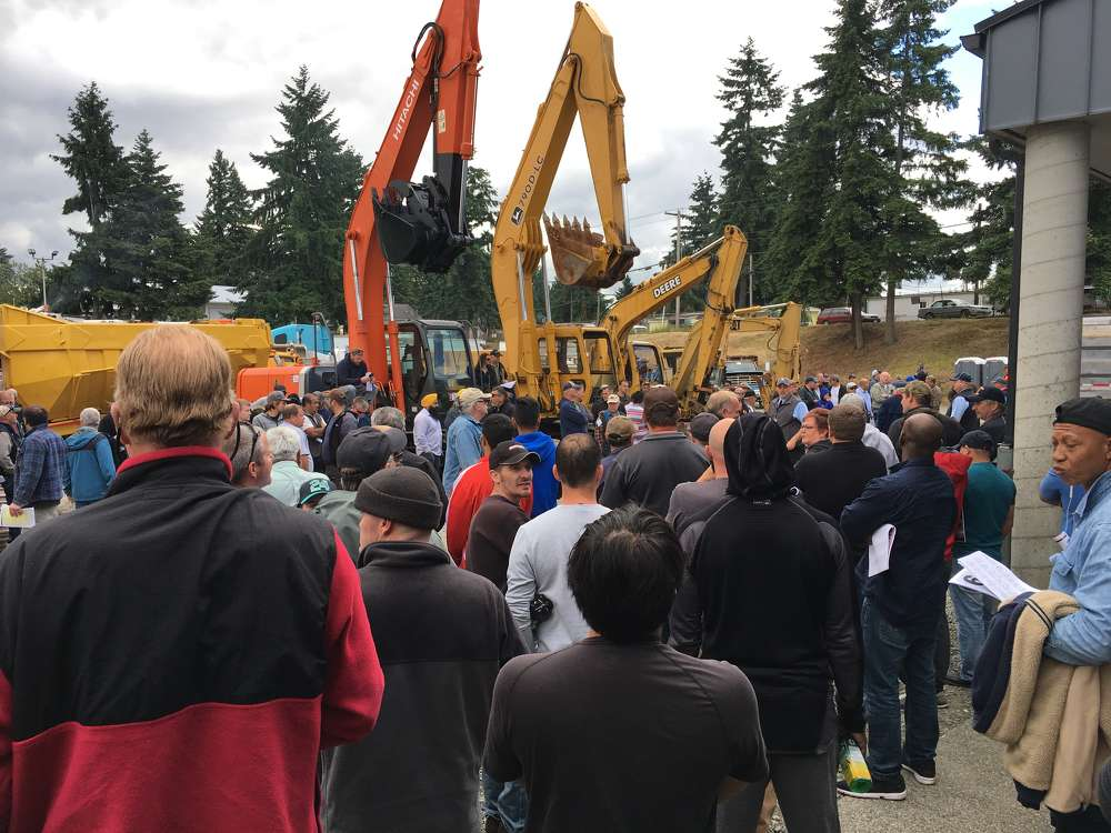 It was standing room only on a record-setting day in Kenmore, Wash.