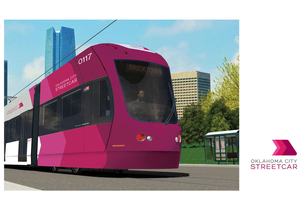OKC Streetcar will link important districts in and around downtown Oklahoma City.