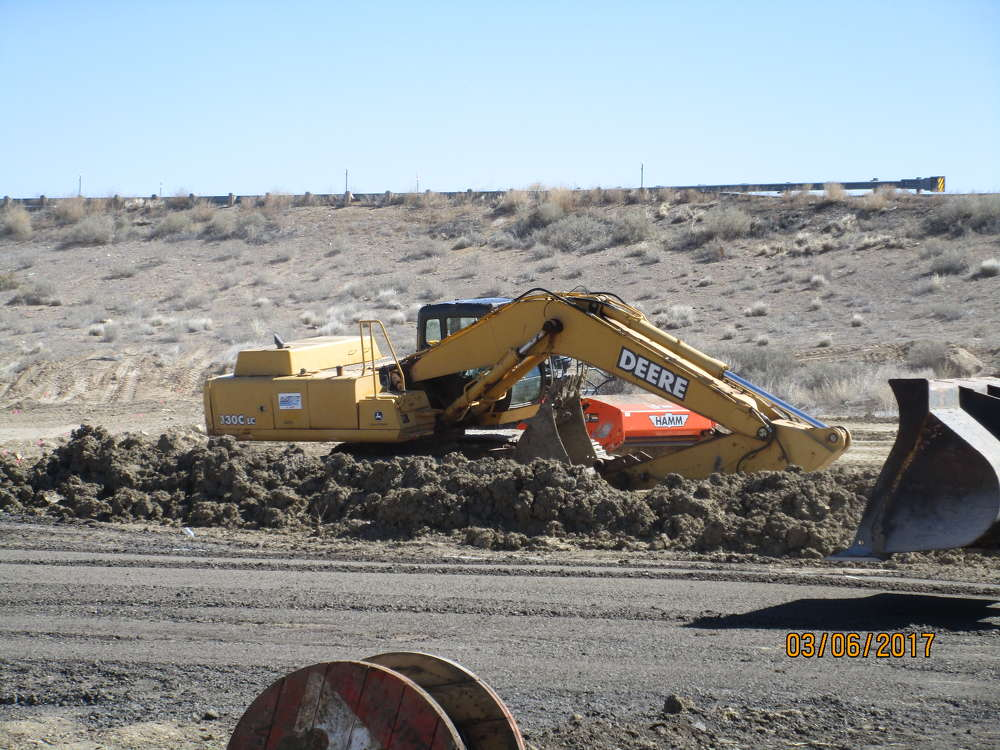 The New Mexico Department of Transportation is overseeing the project. (NMDOT photo)