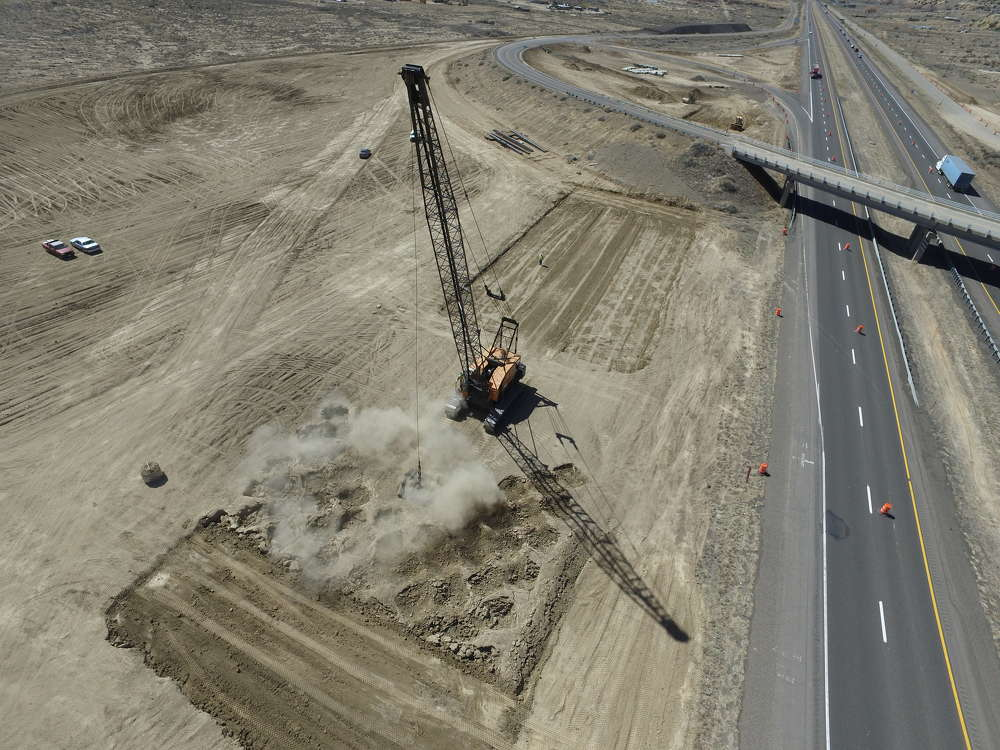 The original start date for the project was November 2016, but the complexity of the project necessitated adding more time for planning and orchestration. (NMDOT photo)
