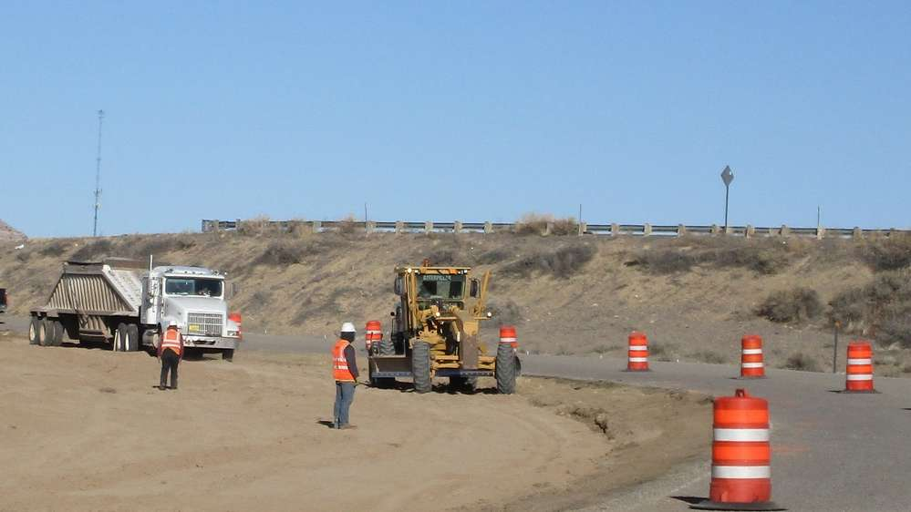 The existing four ramps were considered too short according to today's federal standards. (NMDOT photo)