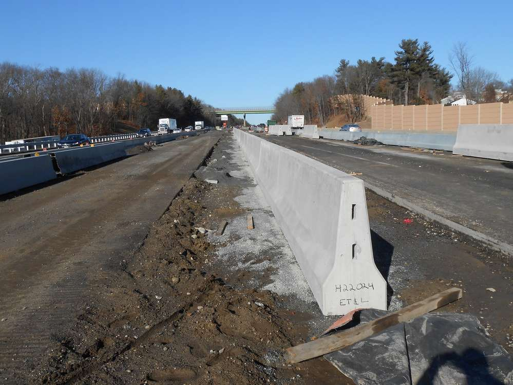 The Methuen Rotary Reconstruction Project is currently in its third year of a four-year project, and already traffic is flowing easier through the area, even during peak hours. (MassDOT photo)