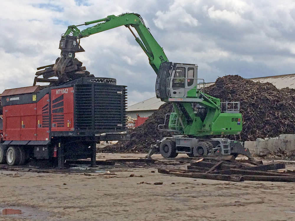 A purpose-built Sennebogen material handler has proven the perfect fit for its busy Zwicky Processing & Recycling operations.