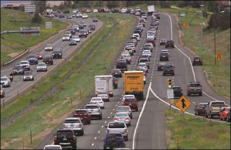Motorists logged 271.7 billion vehicle miles on U.S. roads in April, up 1.2 percent or 3.3 billion miles from the same month in 2016.  (AASHTO Journal photo)
