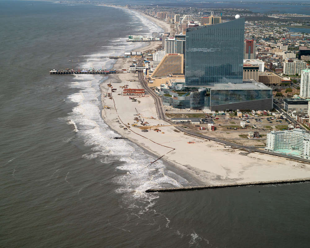 The contract was awarded to Weeks Marine Inc. and is known as the Absecon Island Coastal Storm Damage Reduction project.