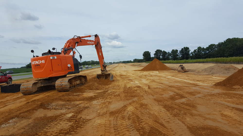 Construction crews in Kent County, Del., are working to complete the $40 million SR 1, Little Heaven Grade Separated Intersection project.