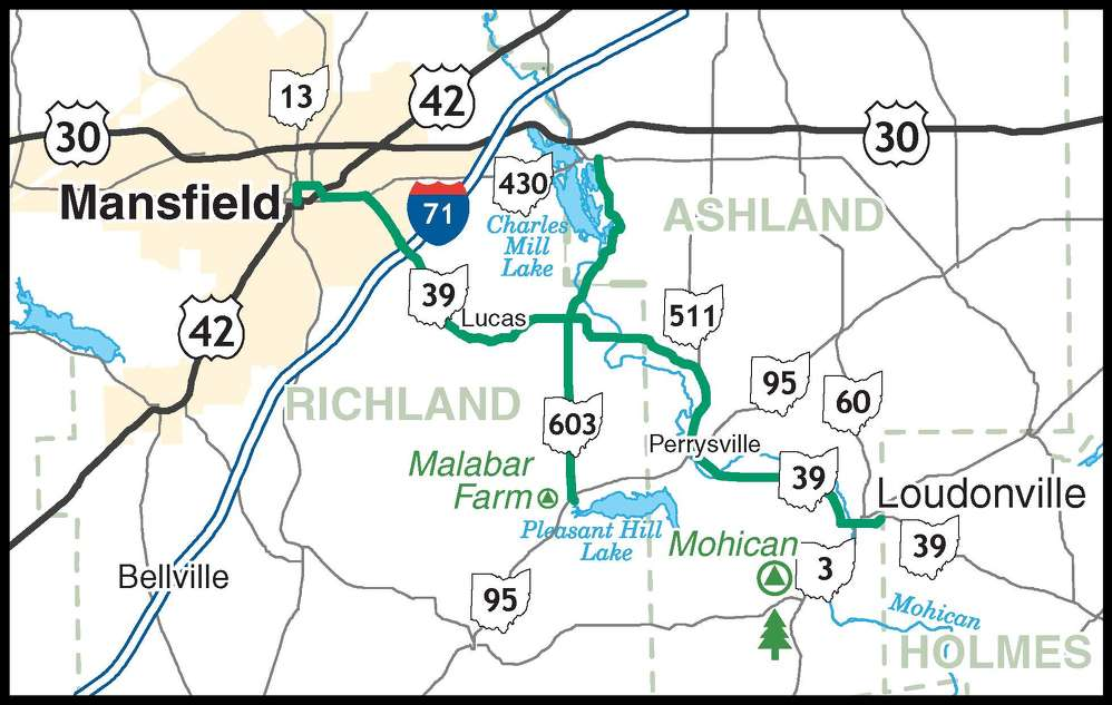 Ohio's newest Scenic Byway, The Johnny Appleseed Historic Byway.