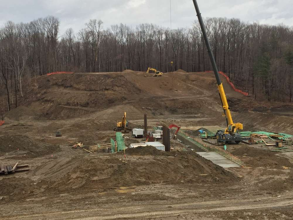 Mosser Construction Inc. secured the contract to rebuild the dam and complete the dam infrastructure improvements at Mt. Gilead Lake, which is scheduled for completion this fall.