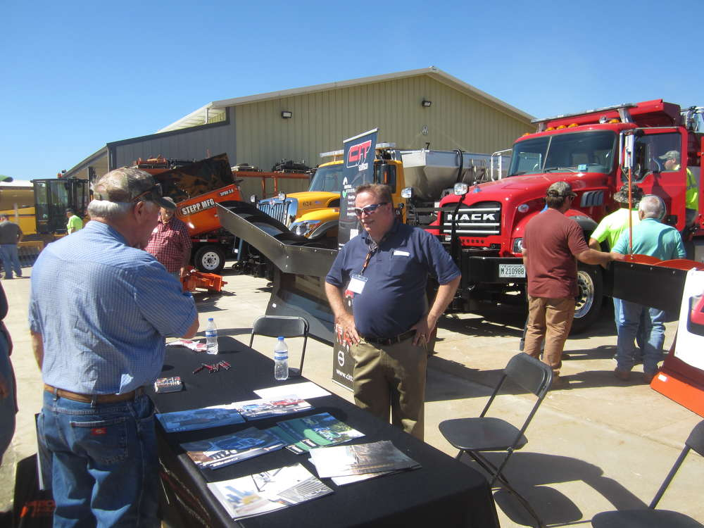 Mike Pagakis, CIT Trucks, answers questions about the company's truck lines.