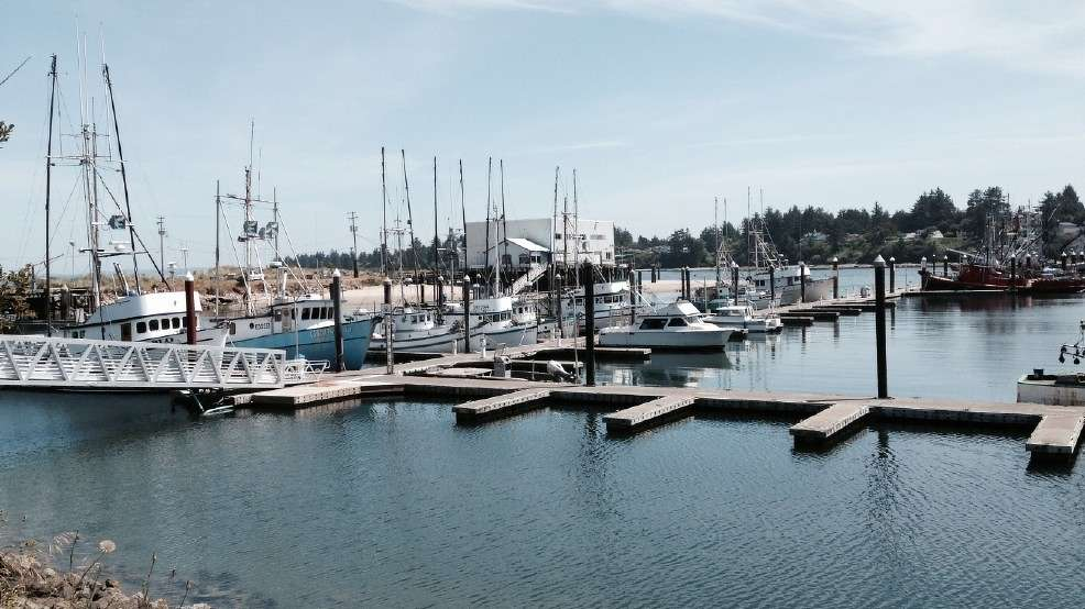 The Port of Coos Bay is promoting its proposed $400 million channel modification project. (kcby.com photo)