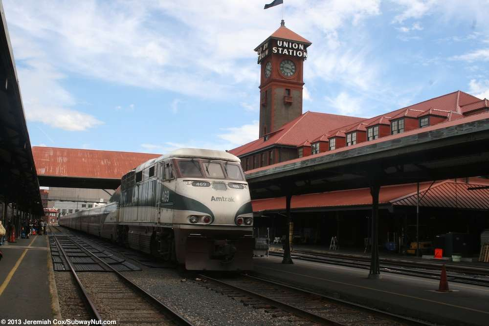Amtrak will replace the service facility that supports its two long-distance trains — the Empire Builder and Coast Starlight.