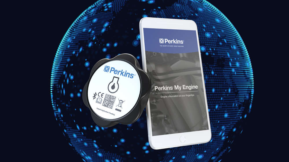 The Perkins SmartCap and Perkins My Engine App will allow users of Perkins engines to easily obtain information such as engine running hours, service reminders and start/stop data.