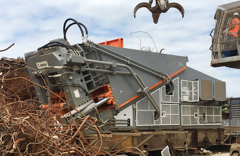 Metso has been recognized as the best scrap equipment provider of the year by American Metal Market.