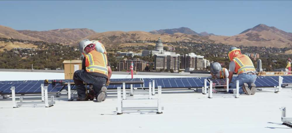 The solar panels will generate enough energy for 89 home games, nearly two seasons worth.