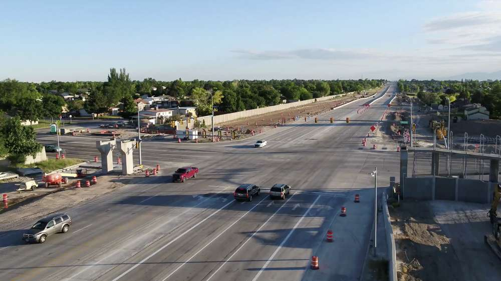 UDOT reopens the intersection and is a step closer to the start of the Bangerter Highway Interchange project, scheduled to begin July 5.