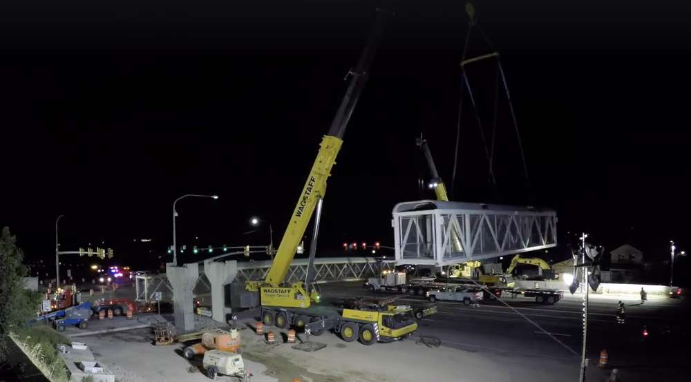 The second section is successfully removed.