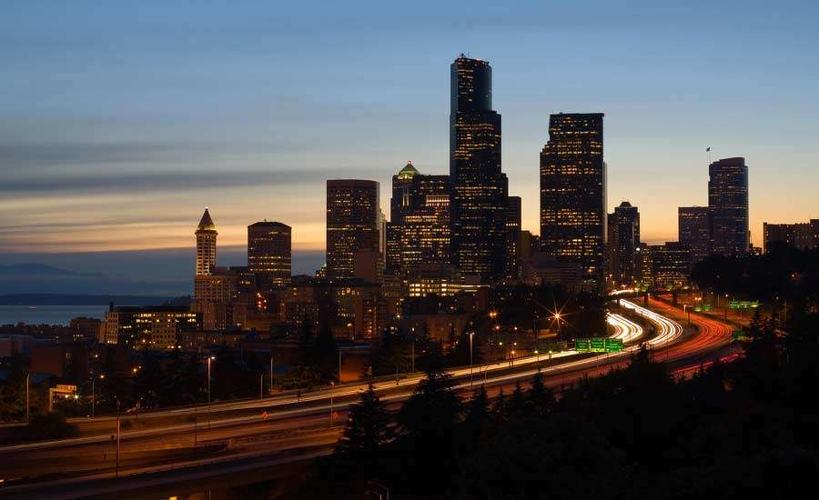 WSDOT) said is starting to rebuild a stretch of Interstate 5 between Seattle and Kent over the next three years. (ENR Northwest photo)