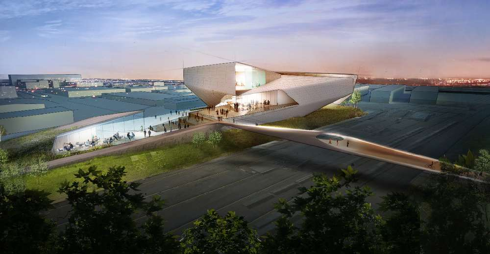 This will be the first full-fledged Olympic museum in the United States.