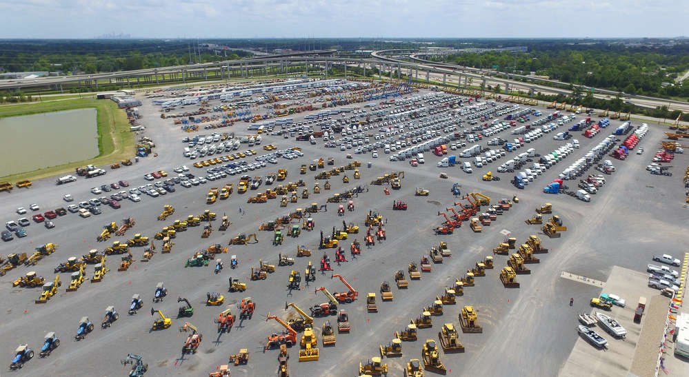 Ritchie Bros. Houston sale, June 21 to 22 featured more than 4,700 pieces of equipment.