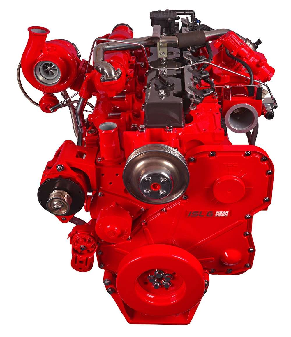 Kenworth's T680 on-highway flagship and T880 and T880S vocational leaders are now available for order with the Cummins Westport ISL G Near Zero NOx emissions natural gas engine.