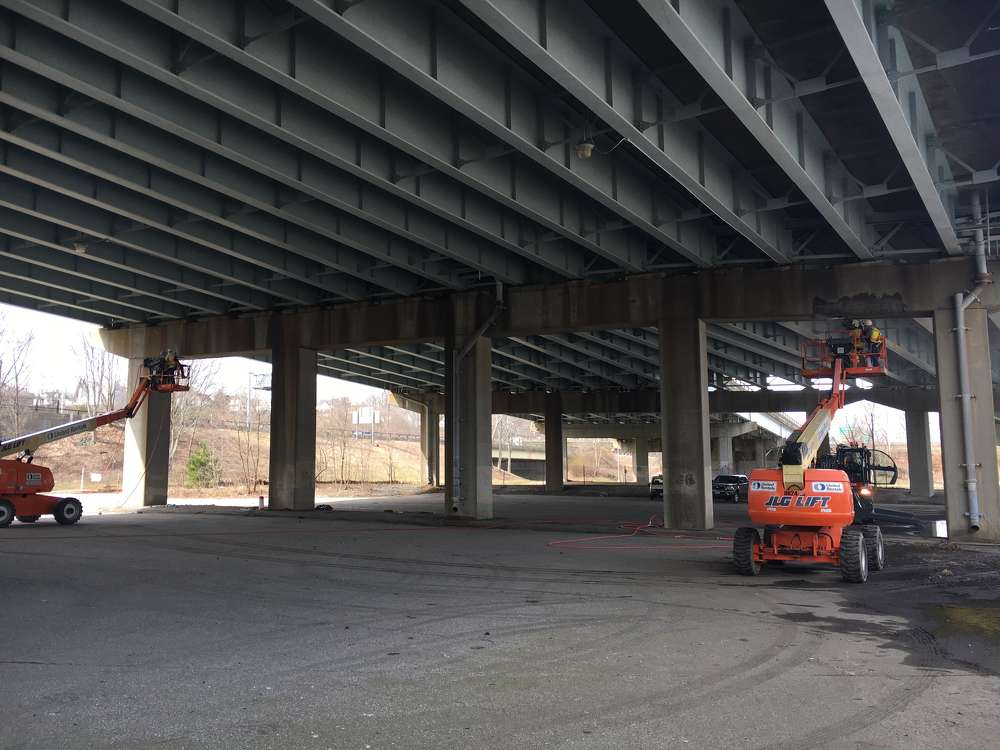 Connecticut Department of Transportation officials report that improvements are needed to repair deterioration from road salt, debris and wear on the bridge. (ConnDOT photo)