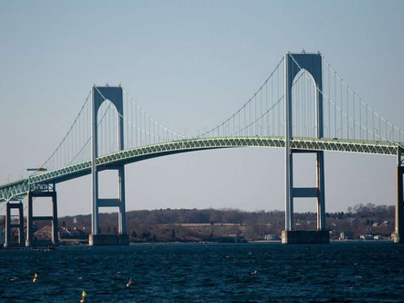The first sequence of the deck repair project on the Newport Pell Bridge was completed.