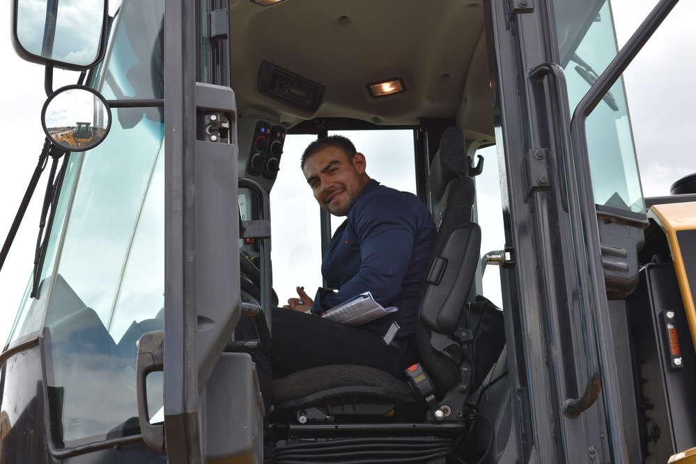Edgar Barraseo, director of M&P Transport, travelled from McAllen, Texas, to participate in the Alex Lyon & Son sale in Atlantic City, N.J.