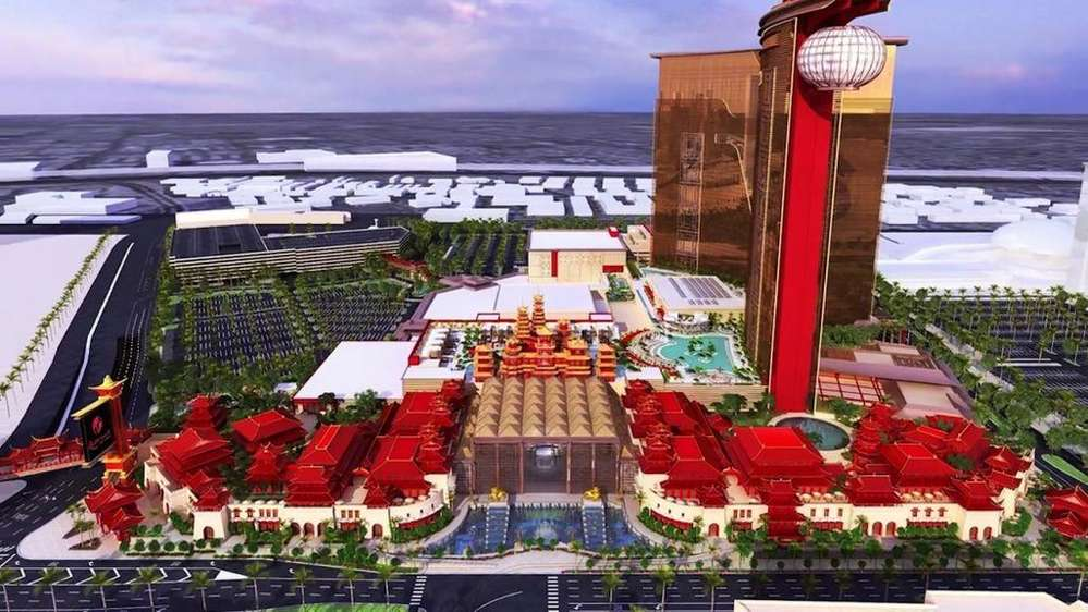 Resort's World's $4 billion Asian-themed resort should be completed by 2020.