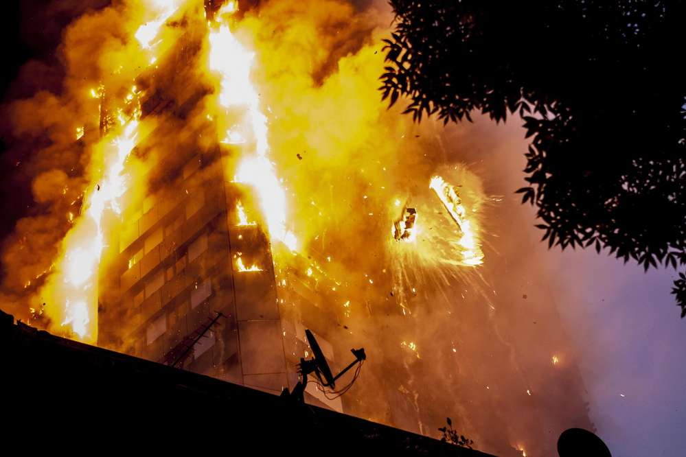 Fire safety experts have expressed shock at how quickly the public housing tower block became engulfed in flames after a blaze began in a refrigerator.