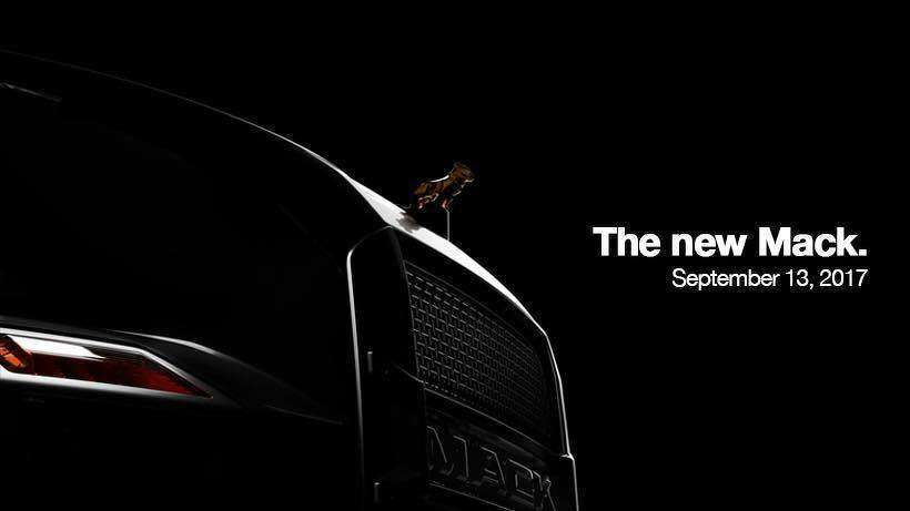 Mack recently launched a campaign for its next-generation highway model and new Granite interiors that will debut on Sept. 13.