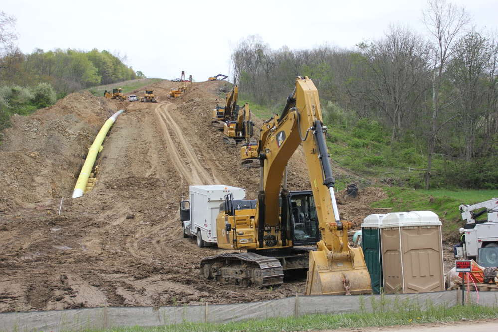 Energy Transfer Partners is building a 713-mile gas pipeline from West Virginia and Pennsylvania through Ohio into Michigan, passing through Washtenaw County on its way to Livingston County.