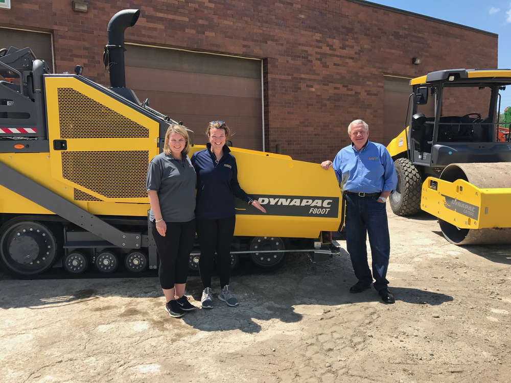 Pictured left to right – Meredith Cavell (Sales Manager), Lauren Gibson (CFO), Lee Gibson (President)