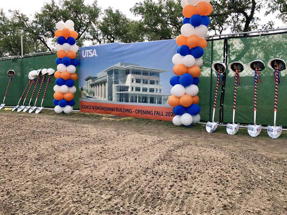 The 153,000-sq. ft. building is slated to open in 2020. (UTSA Facebook photo)
