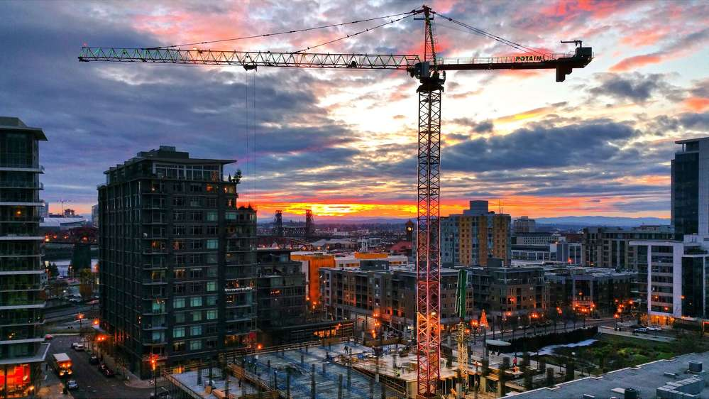Twenty-one construction cranes currently dot the metro-area's skyline, the fifth most in the country and more than either San Francisco or New York.