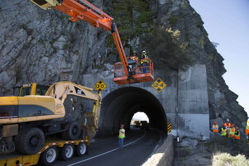 Cave Rock Tunnel Expansion